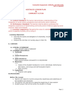 Detailed Lesson Plan (Dlp) - Citizenship