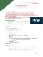 Detailed Lesson Plan (Dlp) - Citizenship
