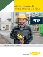 28759 ES Medición de Nivel y Presión en La Industria Del Medio Ambiente y Reciclaje