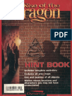 Rise of the Dragon Hint Book