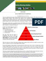 Tye-Pearson Accident Pyramid