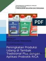 Booklet 5_Aplikasi Probiotik RICA Pada Udang