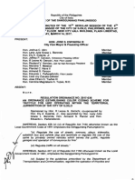 Iloilo City Regulation Ordinance 2017-036