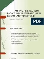 EFEK SAMPING HIPERGLIKEMI PADA TUMBUH KEMBANG JANIN KEHAMILAN.pptx