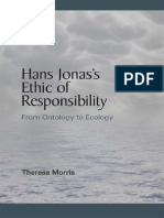 (Suny Series in Environmental Philosophy and Ethics) Jonas, Hans_ Morris, Theresa_ Jonas, Hans-Hans Jonas's Ethic of Responsibility_ From Ontology to Ecology-State University of New York Press (2013)
