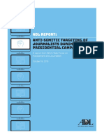 Adl report.Anti-Semitic Targeting of Journalists During the 2016 Presidential Campaign.October 19, 2016