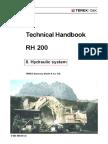 RH200 Sistema Hidraulico