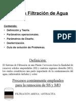 Curso SJ Filtración Por Arena y Desferrización