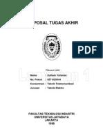 Contoh Format Proposal Tugas Akhir(S-1)