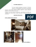 Propuesta Comercial Hoteles Los Angeles