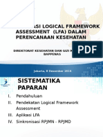 Logical Framework ANALYSIS (LFA) -Revisi