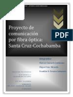 Proyecto de Comunicacion Fibra Optica