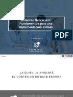 eBook Balanced Scorecard Fundamentos Para Una Implementacin Exitosa