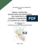 Informe Inventario FUENTES FIJAS Lima-Callao1