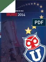 Universidad de Chile - Anuario 2014