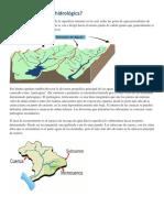 Qué Es Una Cuenca Hidrológica