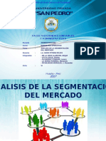 Diapositiva Segmento de Mercado