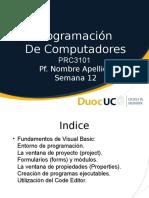 PRC3101_Unidad03_Semana12