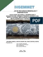 Evolucion Tectonica, Sedimentaria y Magmática Per-tri-jur_mitu Pucará