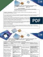 Guía de Actividades y Rúbrica de Evaluación - Fase 1 - Trabajo Identificacion de La Estructura de La Materia y Nomenclatura (1)