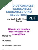 9.1. Ejercicio de Diseño de Canales Erodables (Vadm - Ft)