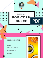 Tutorial - Pop Corn Dulce - CineBookZ