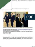 Presidentes Ecuatorianos Que Han Visitado a Su Par en Eeuu