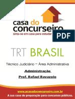 Apostila Trt Brasil Administracao Rafaelravazolo