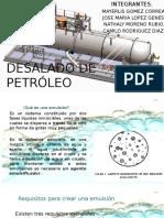 Desalado de Petróleo