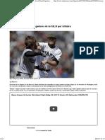 Severa Sanción Para Jugadores de La MLB Por Trifulca