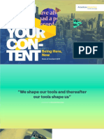 Accenture You Are Your Content Survey Screen