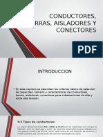 Conductores, Barras, Aisladores y Conectores