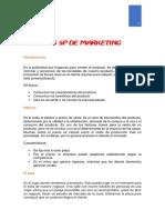 Los 5P de Marketink