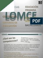 LOMCE Competencias Contenidos Criterios de Evaluación