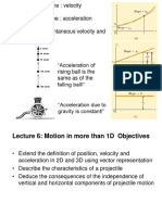 1stLE Lecture 06 - R3 Position, Velocity and Acceleration in 2D, 3D(II)