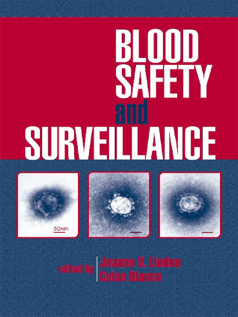 Blood safety and SURVEILLANCE.pdf | Blood Donation | Blood Transfusion
