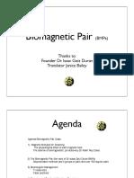 Biomagnetic Pair Class Book