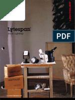Lightolier Lytespan Track Lighting Systems Catalog 1988