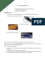Reacciones Químicas Marco Teorico 1.1