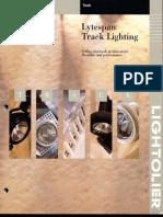 Lightolier Lytespan Track Lighting Systems Catalog 1996