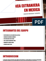 La Banca Extranjera en Mexica