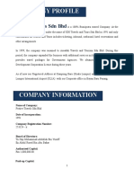 Company Profile Festive