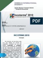 Incoterms 2010 Transporte Intermacional