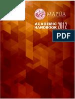 Academic Handbook