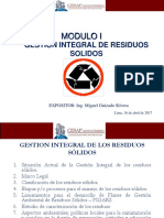 Modulo I G. Integral Residuos Abril 2017