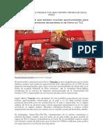 Taiwán Tiene 22 Productos Que Podría Producir en El Perú