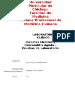 DM y Pancreatitis