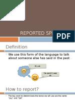 28 - Reported Speech