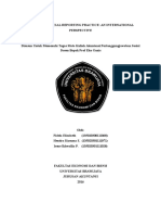 Corporate Social Reporting Practice Inter