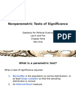Ch 9 Part 1 Nonparametric Tests of Significance3
